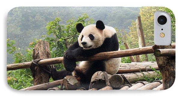 Chengdu Panda Phone Case by Carla Parris