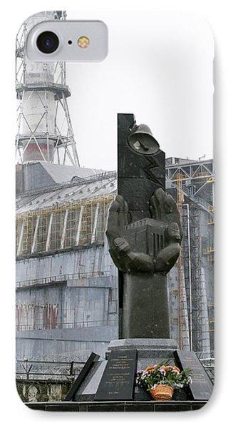 Chernobyl Power Station Monument Phone Case by Ria Novosti