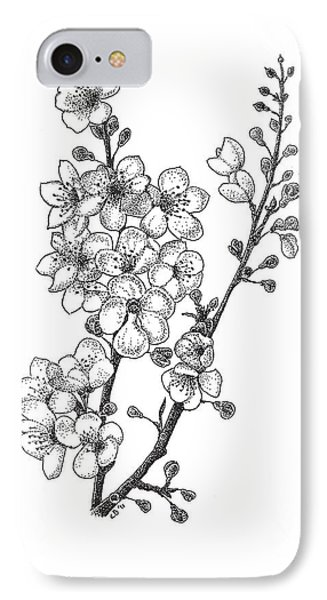 Cherry Blossems IPhone Case