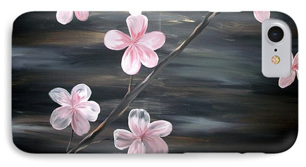 Cherry Blossom By Mark Moore Phone Case by Mark Moore
