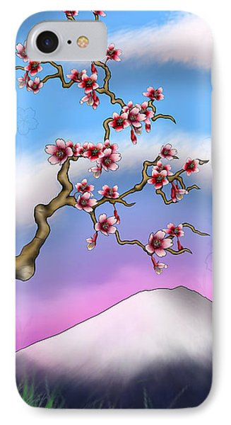 Cherry Blossoms Phone Case by Anthony Citro