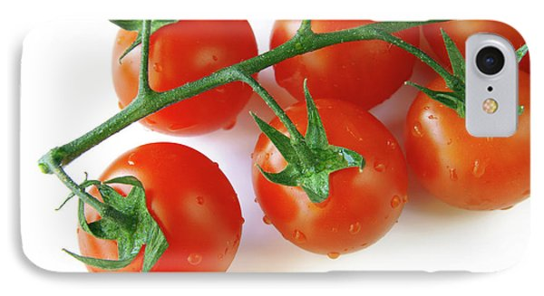 Cherry Tomatoes Phone Case by Carlos Caetano