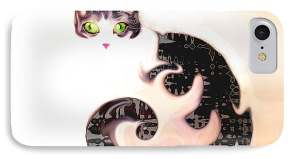 Cheshire Effect IPhone Case by Ginny Schmidt
