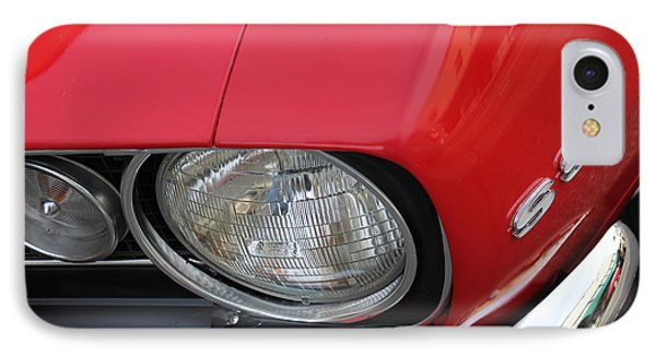 Chevy S S Emblem IPhone Case by Bill Owen