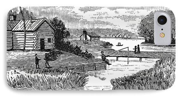 Chicago, 1833 Phone Case by Granger