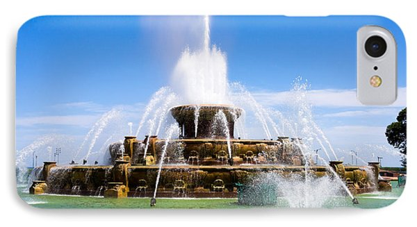 Chicago Buckingham Fountain Phone Case by Paul Velgos