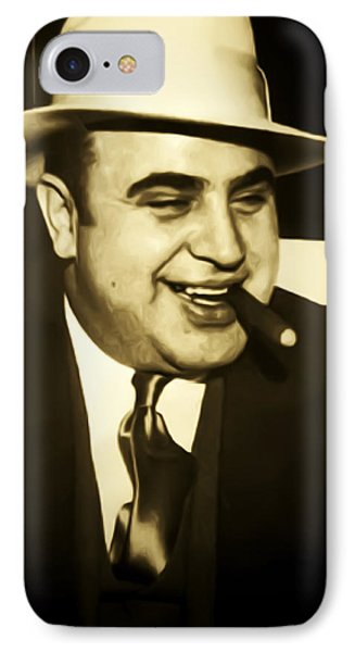Chicago Gangster Al Capone IPhone Case