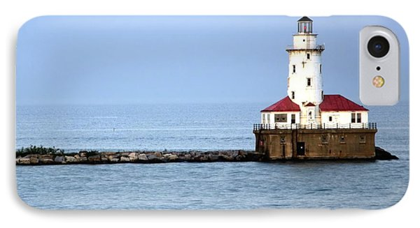 Chicago Lighthouse Phone Case by Sophie Vigneault