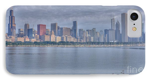 Chicago Morning IPhone Case