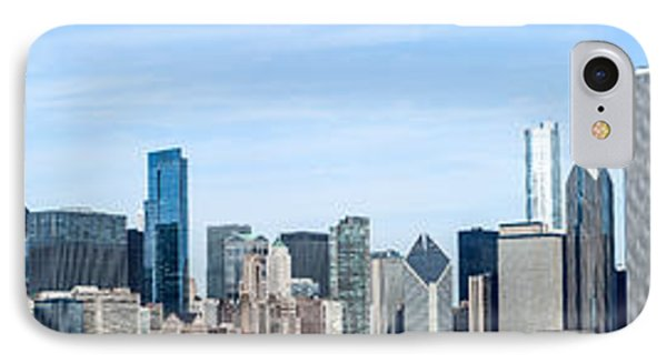 Chicago Panoramic Skyline High Resolution Picture IPhone Case by Paul Velgos
