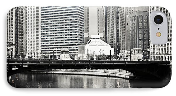 Chicago River Architecture IPhone Case by Paul Velgos