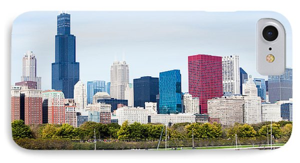 Chicago Skyline Lakefront IPhone Case by Paul Velgos