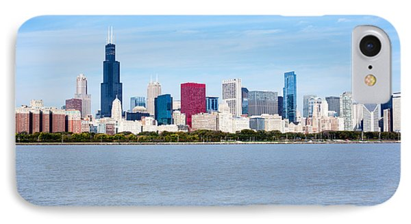 Chicago Skyline IPhone Case by Paul Velgos