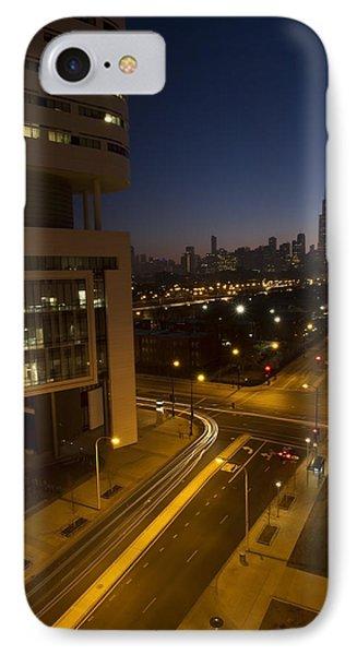 Chicago Skyline View IPhone Case