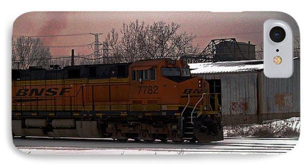 Chicago Train IPhone Case