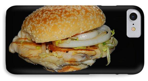 Chicken Sandwich IPhone Case by Cindy Manero