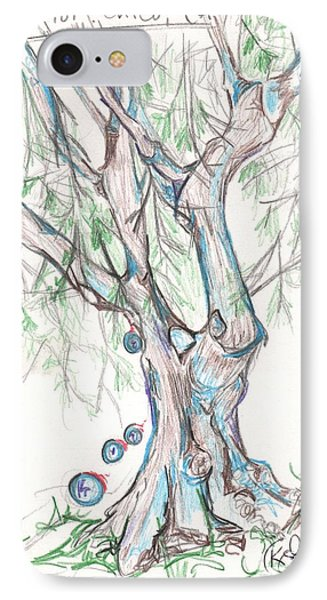 Chico Ca River Tree IPhone Case by Carol Rashawnna Williams