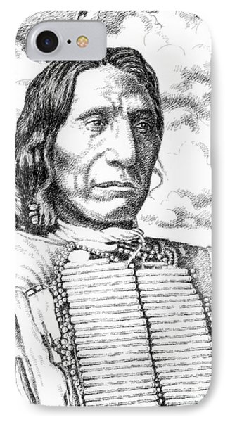 Chief-red-cloud Phone Case by Gordon Punt