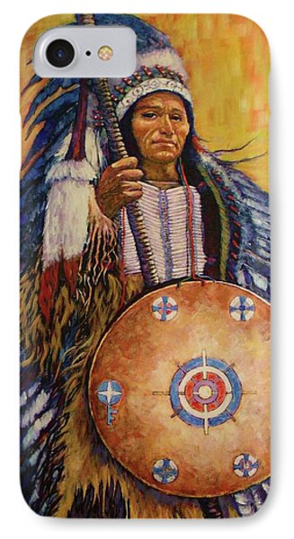 Chief Two IPhone Case by Charles Munn