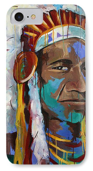 Chiefing IPhone Case by Julia Pappas