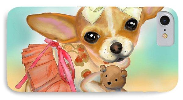 Chihuahua Princess IPhone Case by Catia Cho