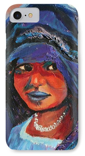 Child Bride Of The Sahara - Close Up IPhone Case by Avonelle Kelsey
