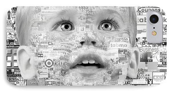 Child Of 21st Century Phone Case by Gabriela Insuratelu