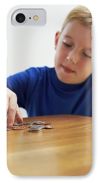 Child With Loose Change Phone Case by Ian Boddy