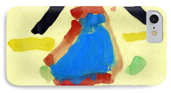 Child's Painting Phone Case by Sheila Terry