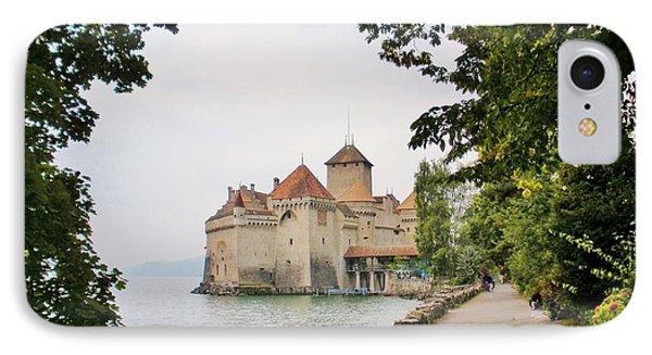 Chillon Castle Phone Case by Marilyn Dunlap