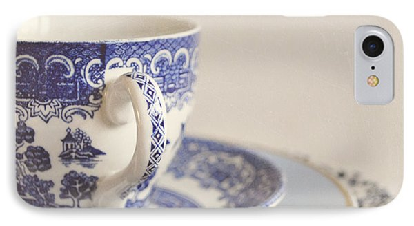 China Cup And Plates Phone Case by Lyn Randle