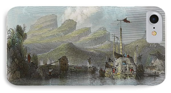 China: Mountains, 1843 Phone Case by Granger