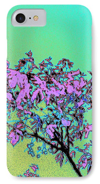 Chinaberry Moon IPhone Case by Louis Nugent