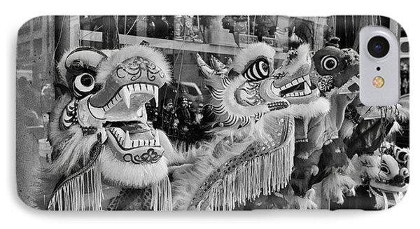 Chinatown Dragons Nyc Phone Case by John Farnan