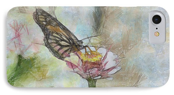 Chinese Butterfly Phone Case by Trish Tritz
