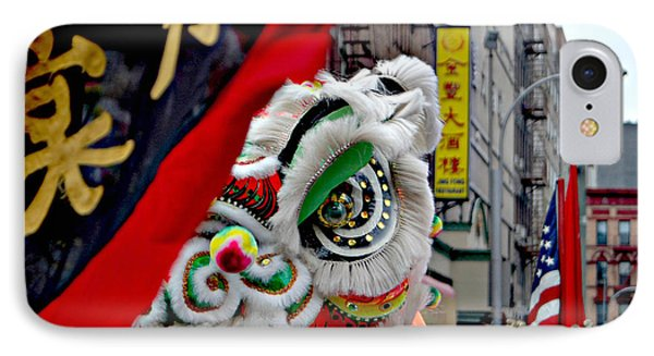 Chinese New Years Nyc  4704 IPhone Case by Mark Gilman