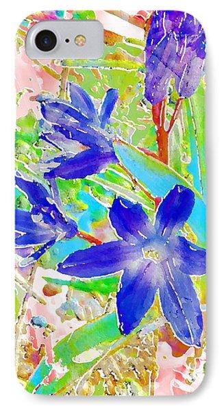 Chionodoxa IPhone Case by Barbara Moignard