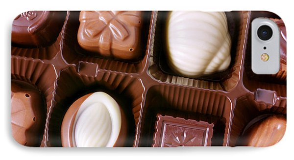Chocolates Closeup Phone Case by Carlos Caetano