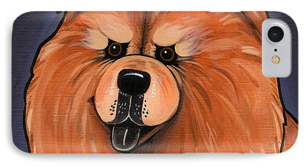 Chow Chow Phone Case by Leanne Wilkes
