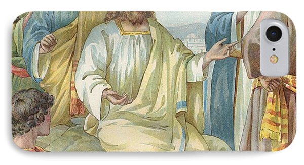 Christ And His Disciples Phone Case by Ambrose Dudley