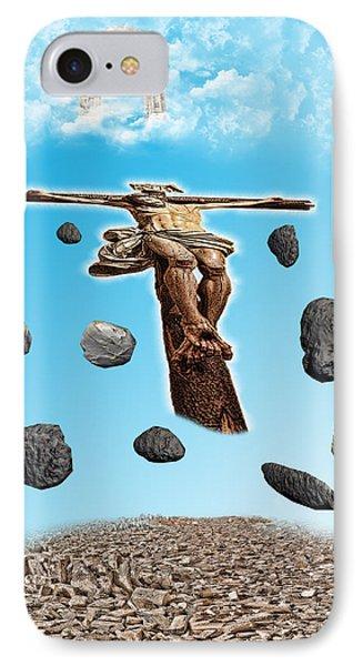 Christ Phone Case by Angel Jesus De la Fuente
