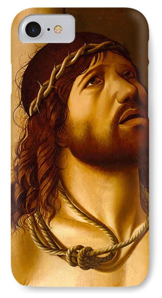 Christ At The Column IPhone Case by Antonio de Saliba