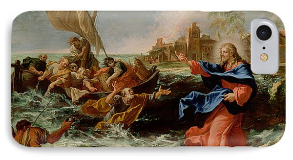 Christ At The Sea Of Galilee IPhone Case by Sebastiano Ricci