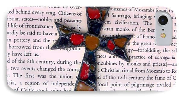 Christian  Cross Phone Case by Cynthia Amaral