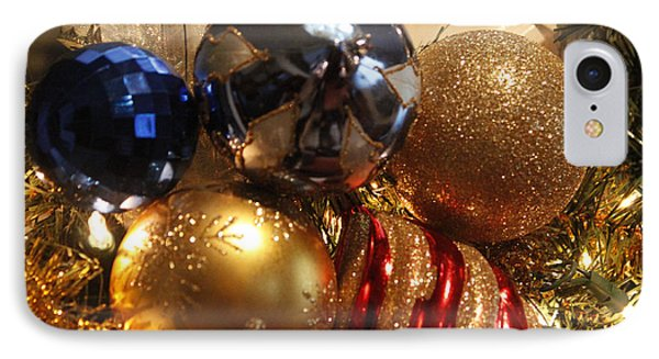 Christmas Bulbs IPhone Case by Ivete Basso Photography