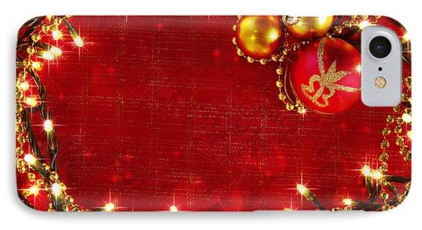 Christmas Frame Phone Case by Carlos Caetano