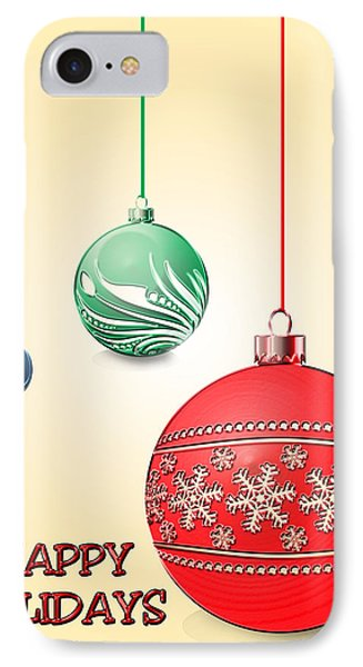 Christmas Ornaments Phone Case by Anthony Caruso