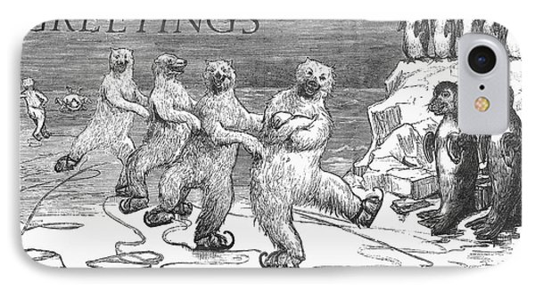 Christmas: Polar Bears Phone Case by Granger