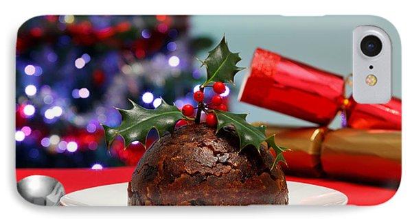 Christmas Pudding  IPhone Case by Richard Thomas