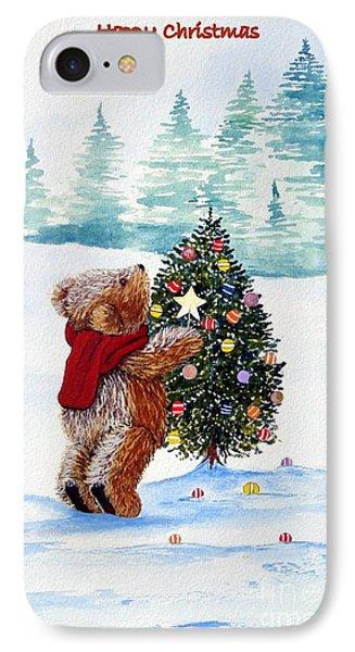 Christmas Star Phone Case by Gordon Lavender